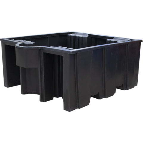 IBC Spill Pallet (For 1 x 1000ltr IBC (Deck)) - BB3 (Black)