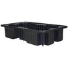 IBC Spill Pallet (For 2 x 1000ltr IBCs (no Deck)) Black - BB4