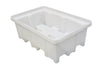 Spill Pallet with 4 way FLT Access (For 2 x 205ltr Drums) - BP2FW (White)