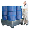 Galvanised Steel Spill Pallet (For Four Drums) - GSP4D