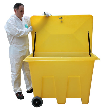 Poly Storage Bin on Wheels (With 350ltr Capacity) - PSB1W
