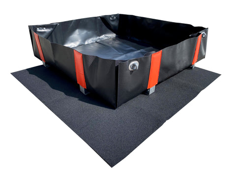 Multi Function PVC Containment Bund Base Mat (750x650mm) - EB0M