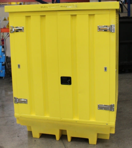 Hard Covered Spill Pallet (For 4 Drums) (Damaged) - BP4HCSD