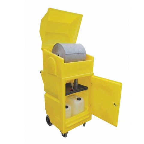Lockable Cabinet (On Wheels With Roll Holder) - PMCXL4