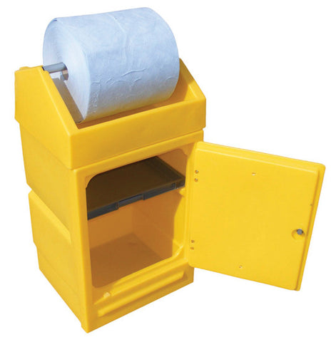 PDSD - roll holder & lockable door