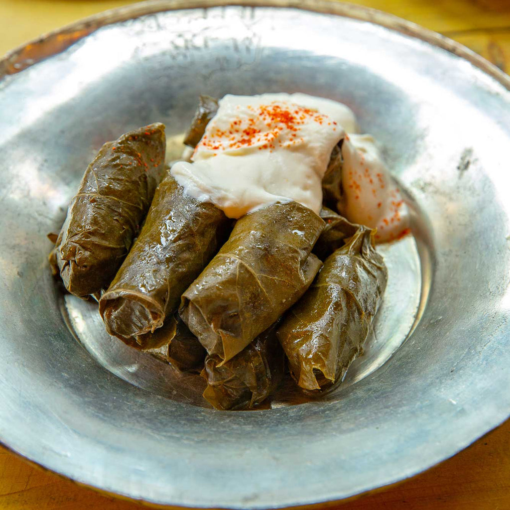 Beef Stuffed Vine Leaves / Yaprak Sarma