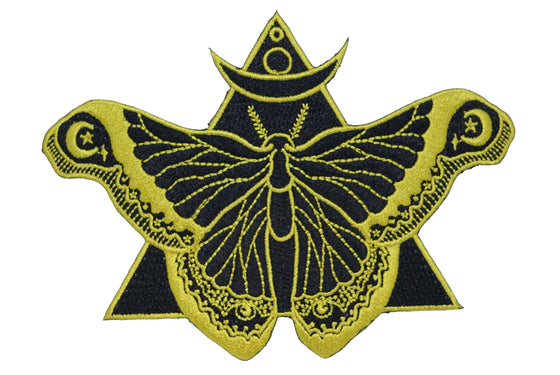 Black Moth Patch