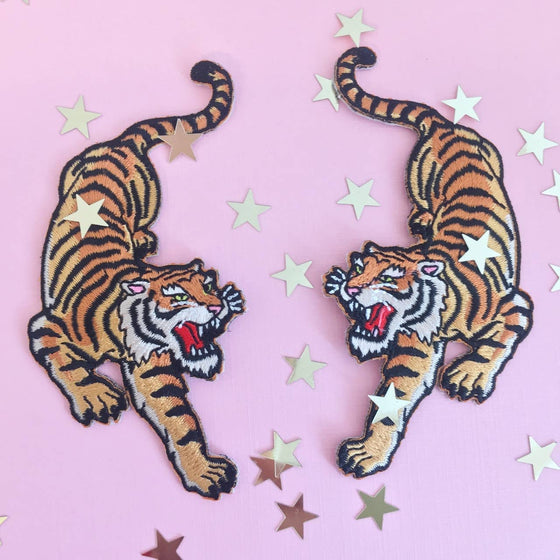 Tiger Patches Set of 2