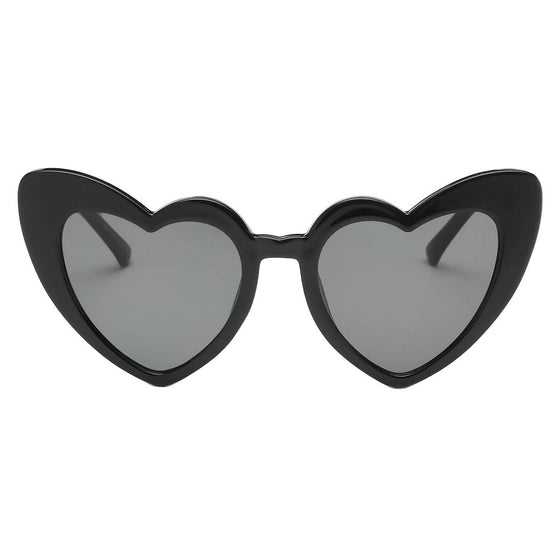 Dark Sweetheart Frame Sunglasses