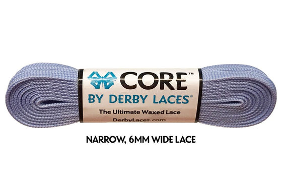 Derby Laces 96 Inch - Waxed