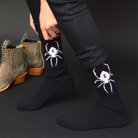 Born a Bad Seed Black Widow Socks