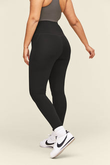 Girlfriend Collection - Midnight Compressive High - Rise Legging