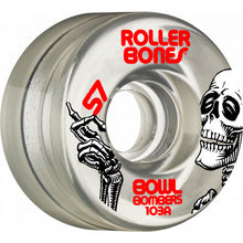 Rollerbones Bowl Bombers Wheels 8pk Clear