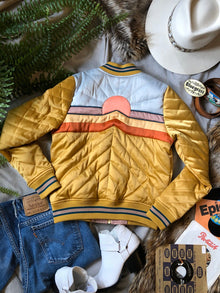 Dolly Western Mustard Bomber Jacket