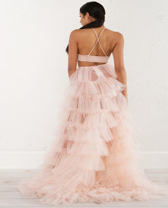 ROSE RUFFLED SKIRT