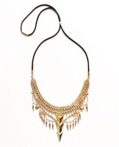 NOIR TRIBAL NECKLACE