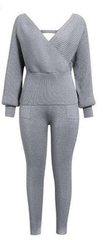 Cozy up sweater pant Set - AtaCollections