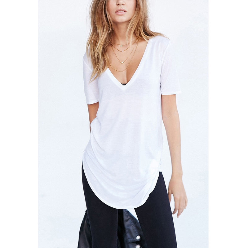 Over sized t-shirt Top - AtaCollections