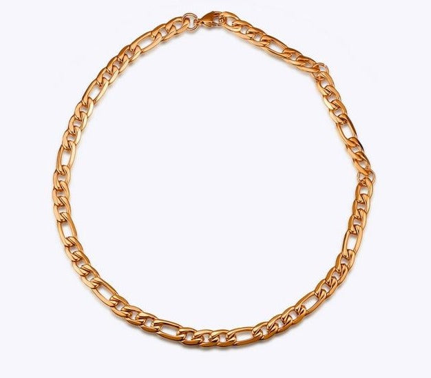 Link chain Choker Necklace - AtaCollections