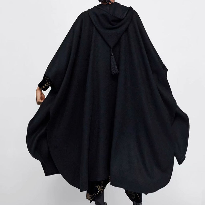 Novel Hooded Cloak - AtaCollections