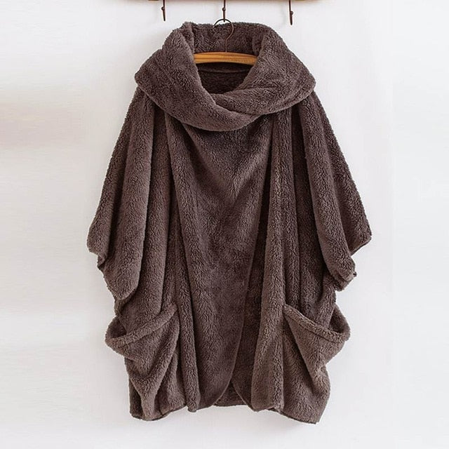 Cozy Poncho - AtaCollections
