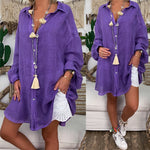 Beach Tunic Shirt - AtaCollections