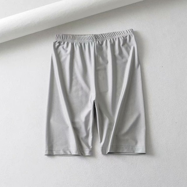 Biking high waist shorts - AtaCollections