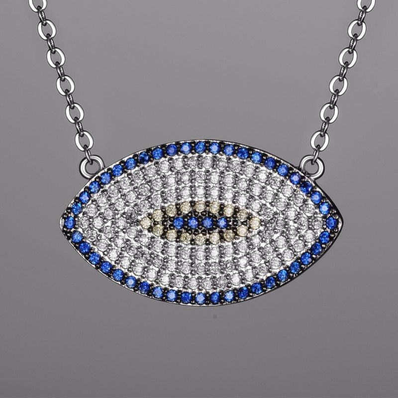 Glamour Turkish Eye Necklace - AtaCollections