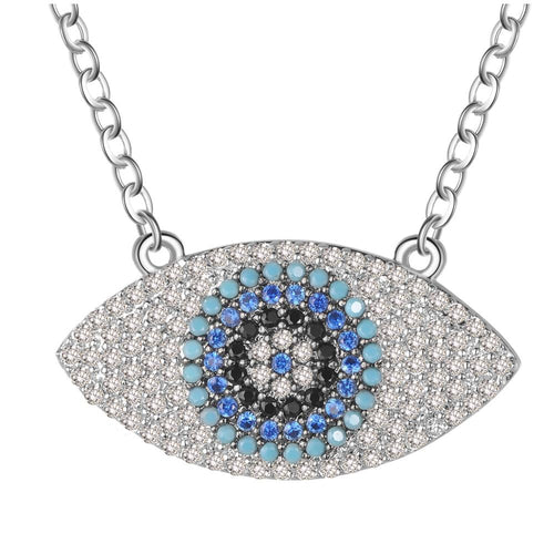 Turkish Blue Eye Necklace - AtaCollections