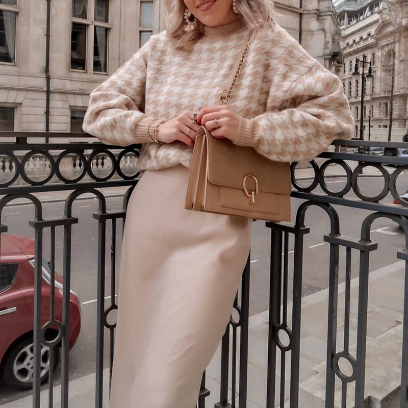 Neutral Cute Sweater - AtaCollections