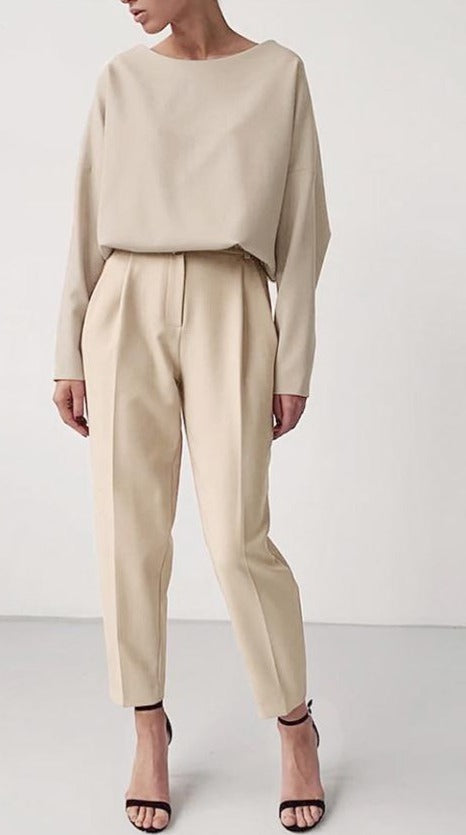 High Waist Trouser - AtaCollections