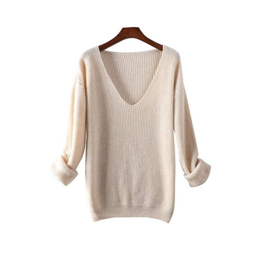 Wool Blend Sweater - AtaCollections