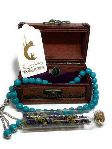 Ramadan gift package small with natural stones