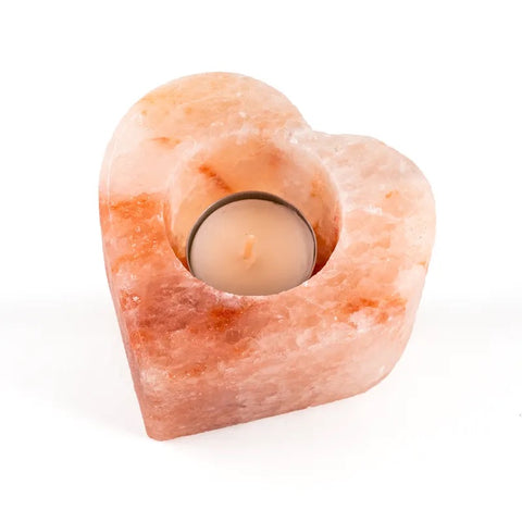 Himalayan Heart salt candle (2X pcs)
