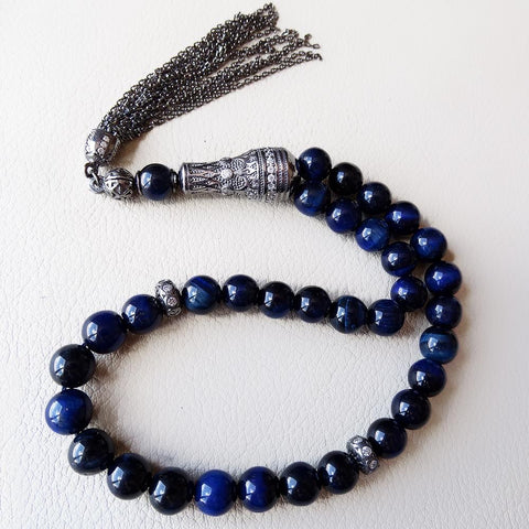 Tiger eye stone tasbih