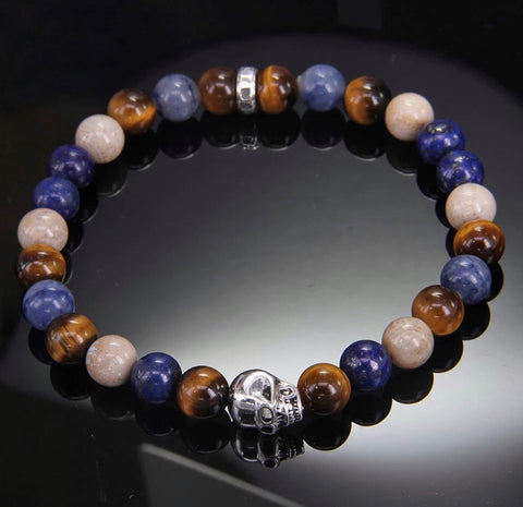Morning night bracelet (tiger eye stone)