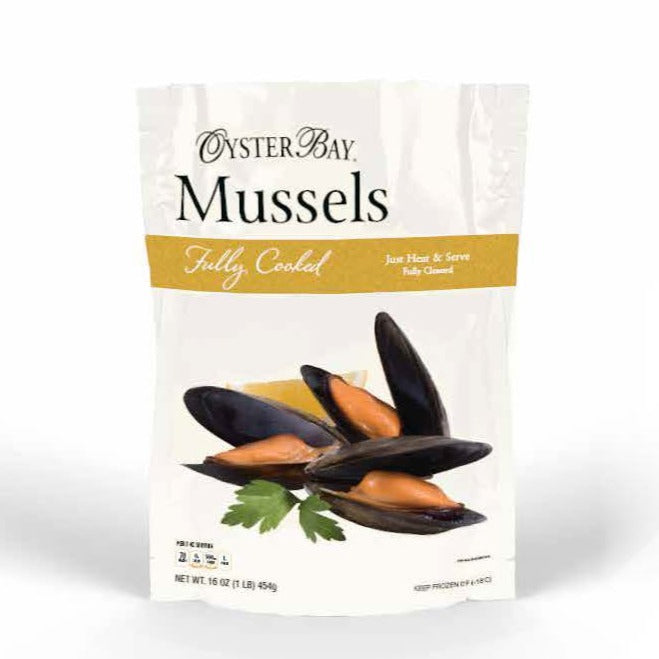 Whole Cooked Mussels