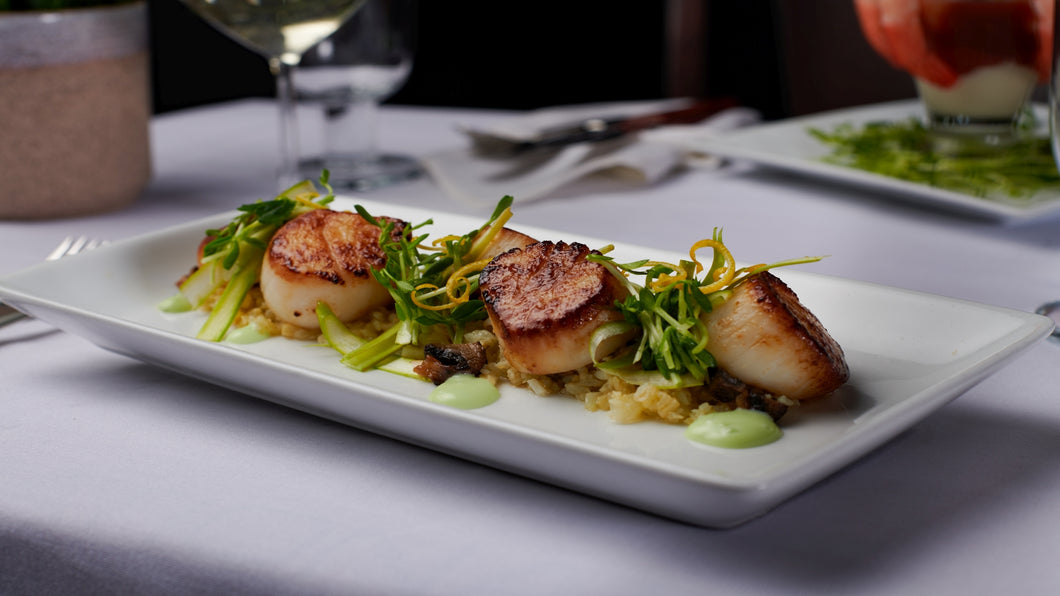Colossal Wild Sea Scallops
