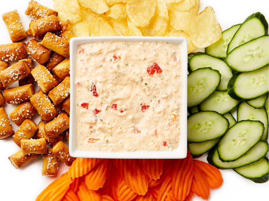 Roasted Red Pepper Crab Dip