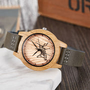 Lovely Deer Wooden Watch