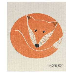 Fox, dishcloth