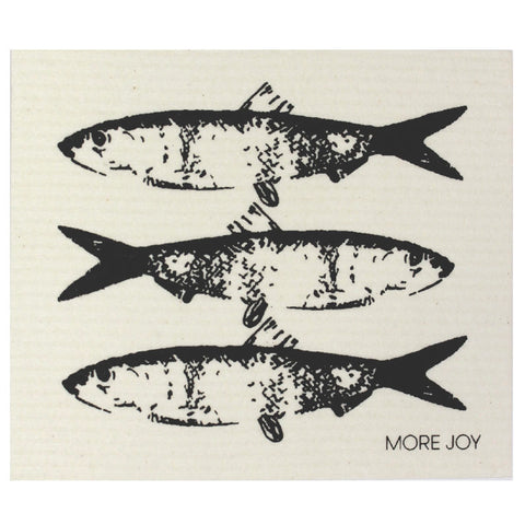 Fish Trio, dishcloth