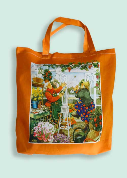 Tote Bag, Orange, Inge Löök