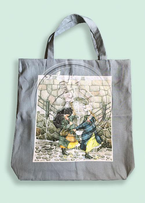Tote Bag, Gray, Inge Löök