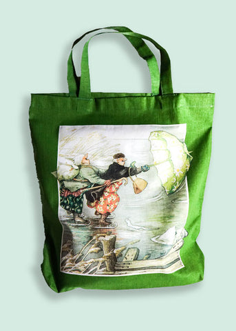 Inge Löök Tote Bag Green