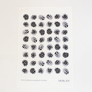 Cones Tea towel