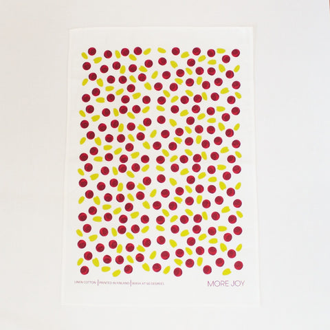 Lingonberry Tea towel