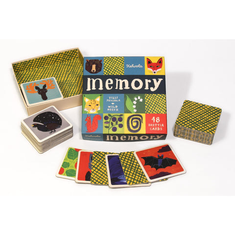 Wild North Memory Game