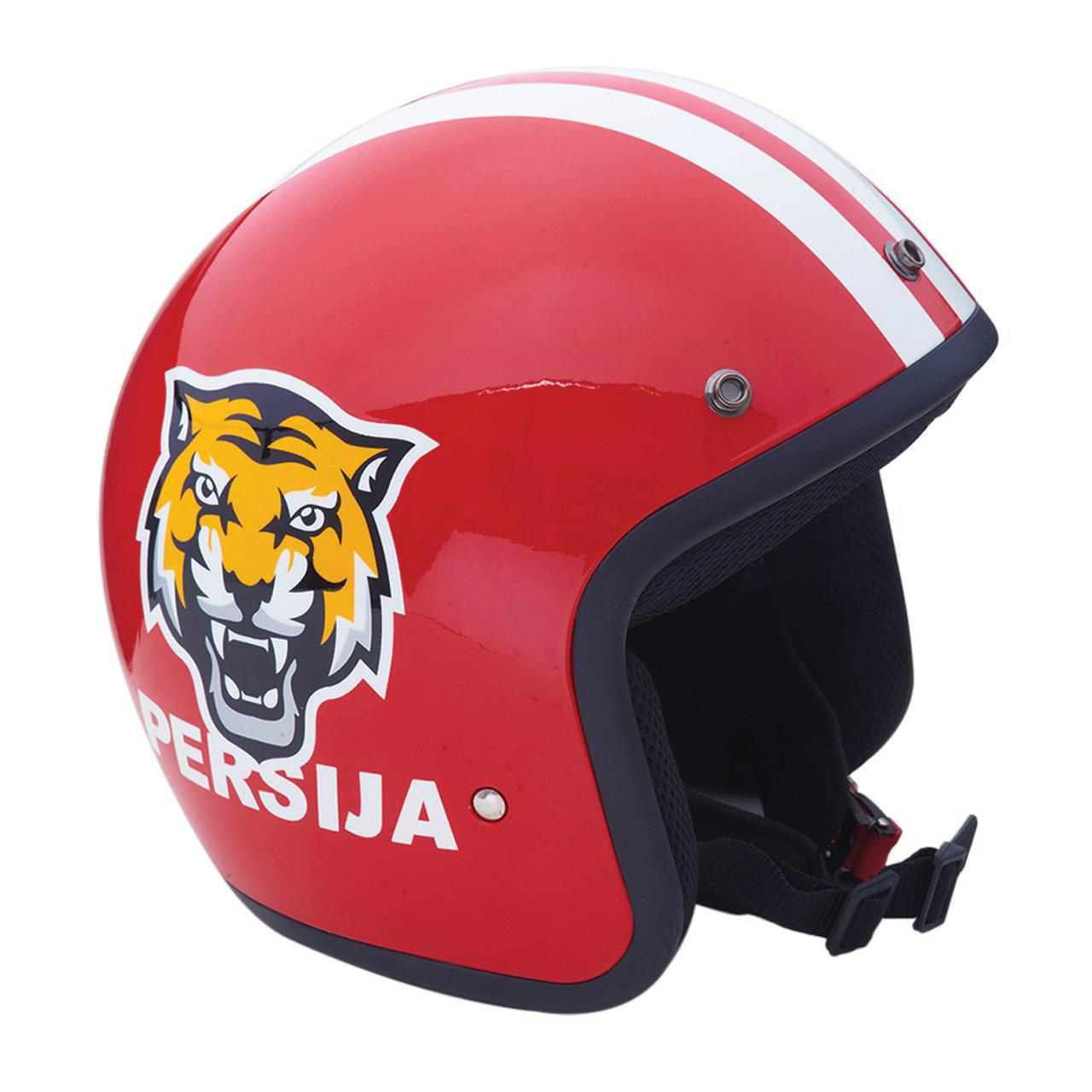 Helm Logo Persija Red