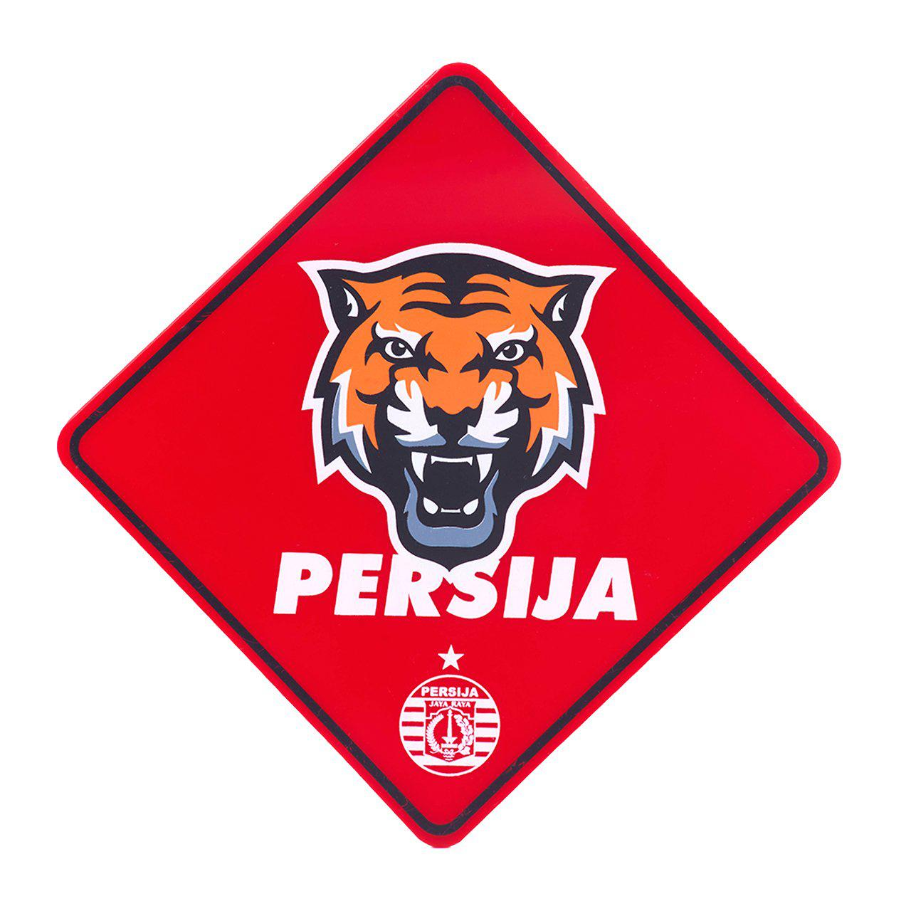 Car Sign Board Macan Persija